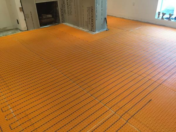 heated flooring 1
